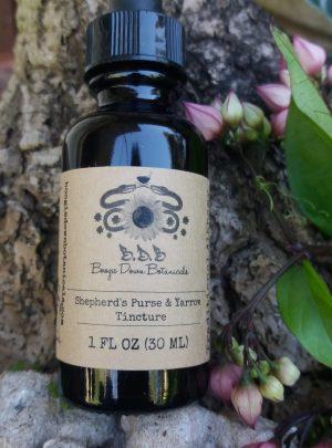 Shepherd's Purse & Yarrow Tincture